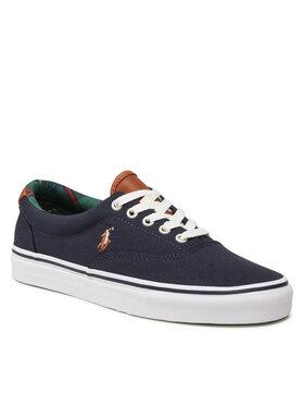 Polo Ralph Lauren Polo Ralph Lauren Sneakers aus Stoff Keaton 816845031006 Dunkelblau