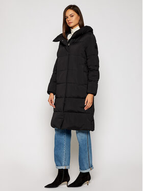 Calvin Klein Calvin Klein Vatovaná bunda Long K20K202320 Čierna Regular Fit