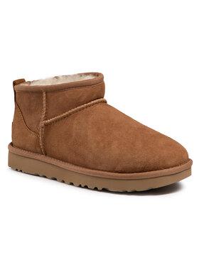 Ugg Ugg Παπούτσια W Classic Ultra Mini 1116109 Καφέ