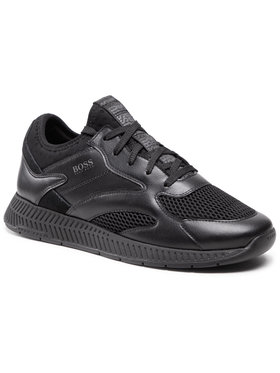 Boss Boss Sneakersy Titanium 50455539 10236368 01 Černá