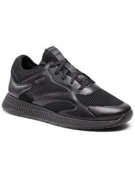 Boss Boss Sneakersy Titanium 50455539 10236368 01 Czarny