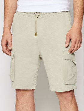 Only & Sons Only & Sons Шорти от плат Nicky 22019126 Сив Regular Fit
