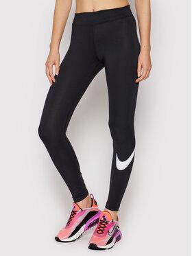 Nike Nike Leggings Sportswear Essential CZ8530 Crna Slim Fit