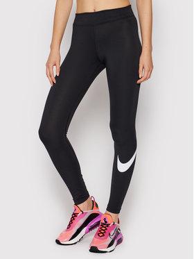 Nike Nike Leginsai Sportswear Essential CZ8530 Juoda Slim Fit
