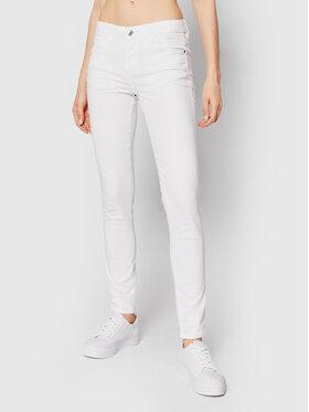 Guess Guess Jeansy Curve X W1GAJ2 W77RE Biały Skinny Fit