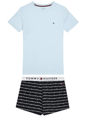 Tommy Hilfiger Tommy Hilfiger Pijama UG0UG00362 Albastru