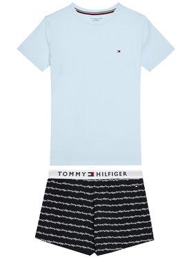 Tommy Hilfiger Tommy Hilfiger Piżama UG0UG00362 Niebieski