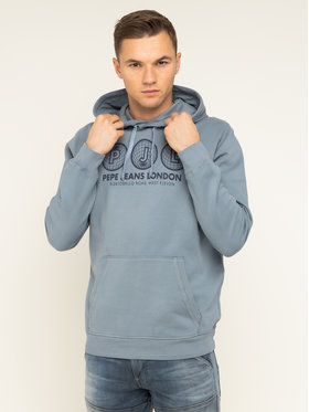 Pepe Jeans Pepe Jeans Bluză Andy PM581720 Gri Regular Fit