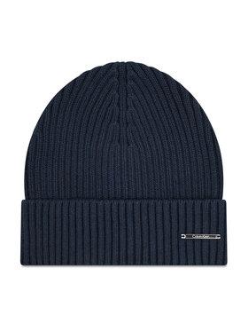 Calvin Klein Calvin Klein Kepurė Basic Rib Beanie K50K507496 Tamsiai mėlyna
