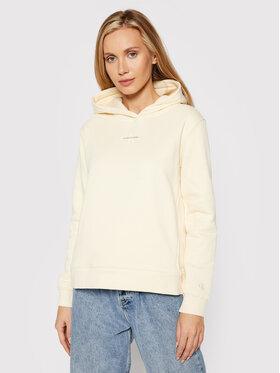 Calvin Klein Jeans Calvin Klein Jeans Majica dugih rukava J20J216958 Žuta Regular Fit