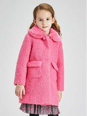 Mayoral Mayoral Cappotto 4435 Rosa Regular Fit