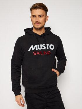 Musto Musto Felpa 82019 Nero Regular Fit
