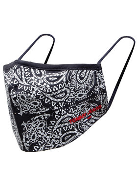 Tommy Jeans Tommy Jeans Mascherina di tessuto Tjm Bandana Face Cover AM0AM07681 Nero