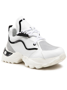 Carinii Carinii Sneakersy B6219 Biały