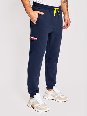 Tommy Jeans Tommy Jeans Pantaloni trening Pocket DM0DM10513 Bleumarin Regular Fit