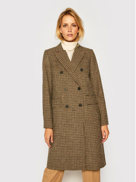 TOMMY HILFIGER TOMMY HILFIGER Преходно палто Blend Pattern WW0WW29135 Цветен Regular Fit