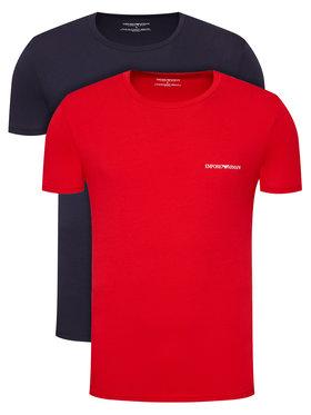 Emporio Armani Underwear Emporio Armani Underwear Komplet 2 t-shirtów 111267 1P717 76035 Kolorowy Regular Fit