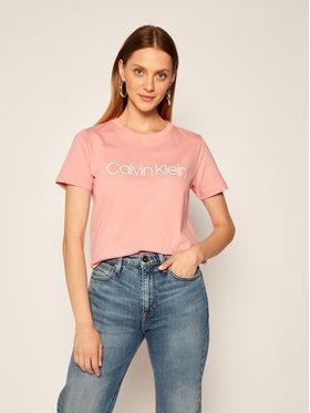Calvin Klein Calvin Klein Póló Core Logo K20K202142 Rózsaszín Regular Fit