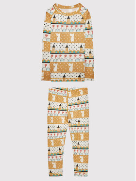 Reima Reima Ensemble sous-vêtements termiques Moomin Trivsam 516606 Jaune Regular Fit