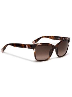 Furla Furla Okulary przeciwsłoneczne Sunglasses Sfu470 WD00014-A-0467-AN000-4-401-20-CN-D Brązowy