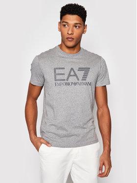 EA7 Emporio Armani EA7 Emporio Armani T-Shirt 3KPT81 PJM9Z 3905 Šedá Regular Fit