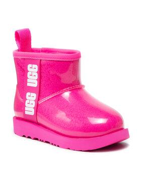 Ugg Ugg Pantofi Kids' Classic Clear Mini II 1112386K Roz