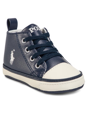 Polo Ralph Lauren Polo Ralph Lauren Laisvalaikio batai Hamptyn Hi RL100530 Tamsiai mėlyna