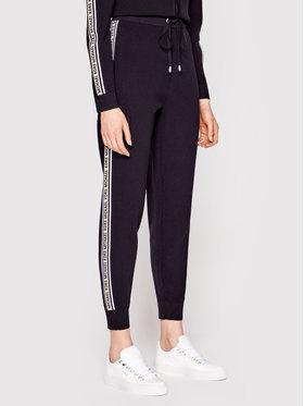MICHAEL Michael Kors MICHAEL Michael Kors Pantaloni din material MS1301K1FW Negru Regular Fit
