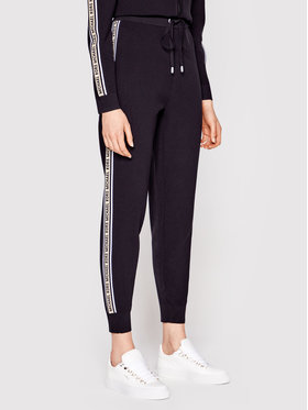 MICHAEL Michael Kors MICHAEL Michael Kors Spodnie dresowe MS1301K1FW Czarny Regular Fit
