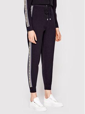 MICHAEL Michael Kors MICHAEL Michael Kors Текстилни панталони MS1301K1FW Черен Regular Fit