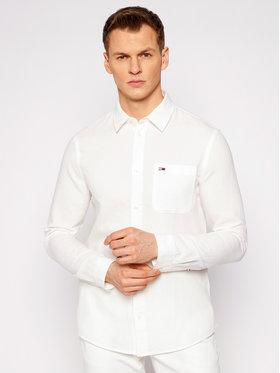 Tommy Jeans Tommy Jeans Риза Tjm Blend DM0DM10144 Бял Regular Fit