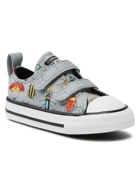 Converse Converse Sneakers aus Stoff Ctas 2V Ox Ash Sto 770710C Grau
