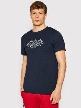 4F 4F T-Shirt TSM062 Granatowy Regular Fit