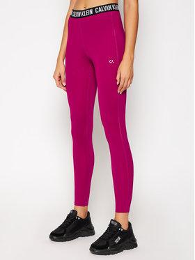 Calvin Klein Performance Calvin Klein Performance Legginsy Full Lenght Tight 00GWF0L636 Różowy Slim Fit