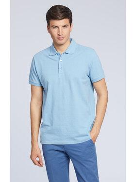 Vistula Vistula Тениска с яка и копчета Cyrus XA1318 Син Regular Fit