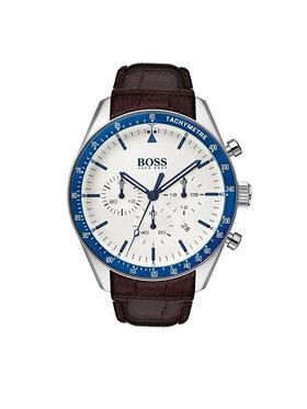 Boss Boss Zegarek Trophy 1513629 Brązowy