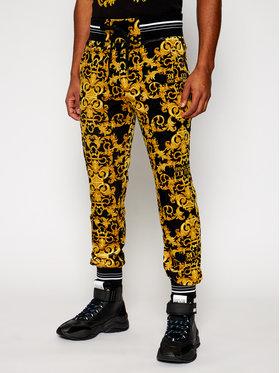 Versace Jeans Couture Versace Jeans Couture Долнище анцуг A2GWA1F1 Черен Regular Fit