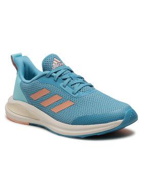 adidas adidas Boty FortaRun K FY1333 Modrá
