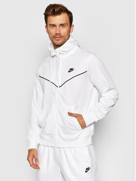 Nike Nike Bluză Sportswear CZ7822 Alb Standard Fit