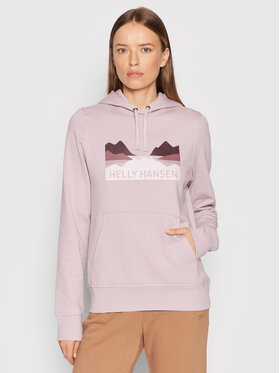 Helly Hansen Helly Hansen Sweatshirt Nord Graphic 62981 Rose Regular Fit