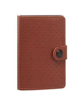 Secrid Secrid Malá pánská peněženka Miniwallet Perforated MPF Hnědá