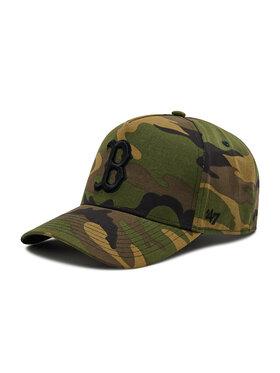 47 Brand 47 Brand Șapcă Boston Red Sox B-GRVSP02CNP-CM Verde