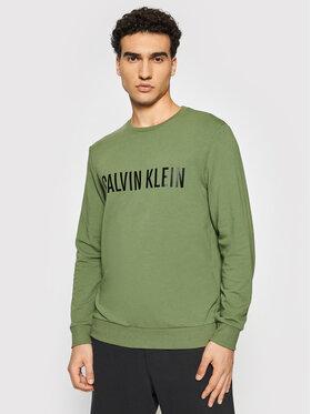 Calvin Klein Underwear Calvin Klein Underwear Bluza 000NM1960E Zielony Regular Fit