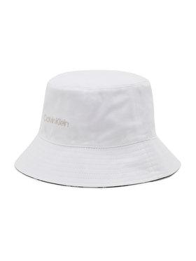 Calvin Klein Calvin Klein Bucket Hat Oversize Rev K60K608299 Weiß