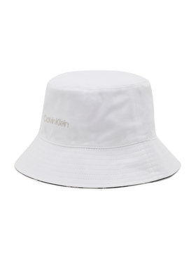 Calvin Klein Calvin Klein Skrybėlė Oversize Rev K60K608299 Balta