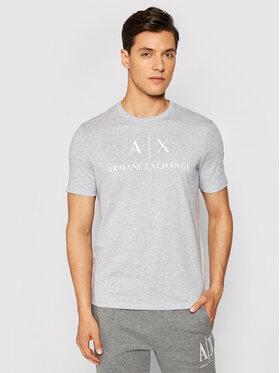 Armani Exchange Armani Exchange T-shirt 8NZTCJ Z8H4Z 3929 Grigio Slim Fit