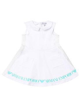 Emporio Armani Emporio Armani Kleid für den Alltag 3HEA13 4J23Z 0100 Weiß Regular Fit