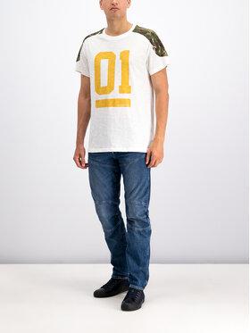 G-Star Raw G-Star Raw T-Shirt Graphic 17 D12872-B134-111 Weiß Loose Fit