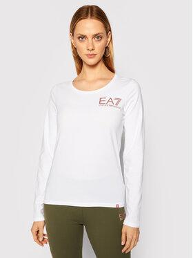 EA7 Emporio Armani EA7 Emporio Armani Bluse 6HTT14 TJ29Z 1100 Weiß Regular Fit