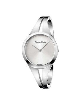 Calvin Klein Calvin Klein Zegarek Bangle Medium K7W2M116 Srebrny